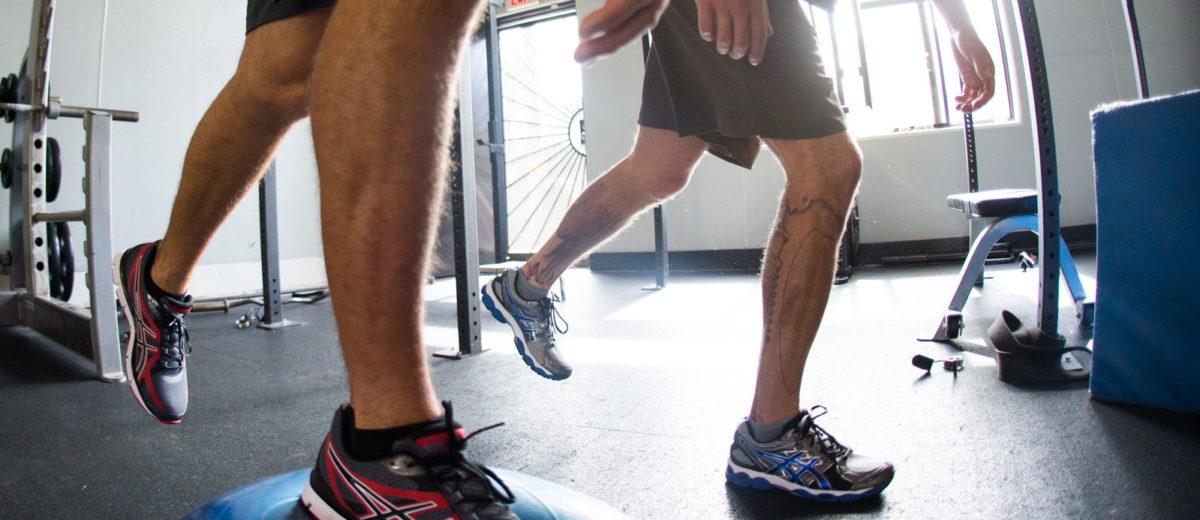 Rehabilitación de lesiones de tobillo y pie en atletas