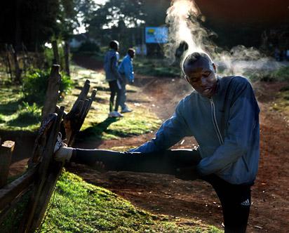 Los corredores kenianos